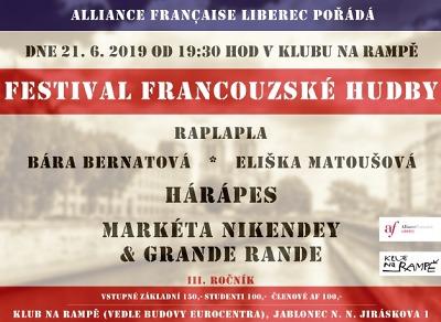 Festival francouzské hudby zavítá i na jabloneckou Rampu