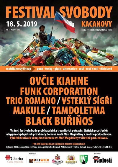 Festival Svobody opět pořádají v Kacanovech