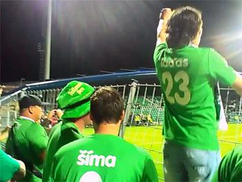 VIDEO: Fanoušci si užívali finálové vítězství