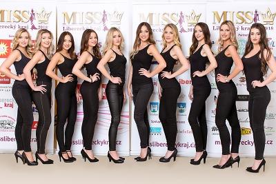 Soutěž o nejkrásnější dívku Libereckého kraje zná své finalistky!