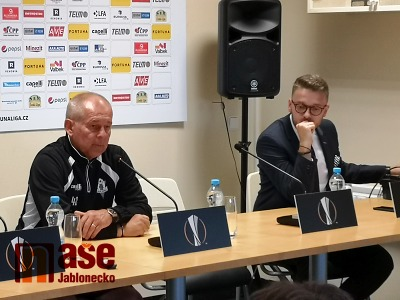 Jablonec hraje ve čtvrtek o postup v Evropské lize
