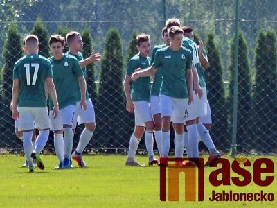 Béčko FK vybojovalo v Teplicích bod po penaltách