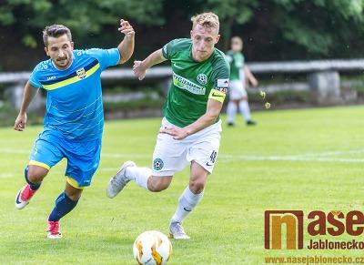 Obrazem: Přátelské utkání FK Velké Hamry vs. FK Neratovice-Byškovice