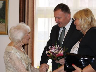 Hannelore Singer oslavila v rodném Jablonci 90 let