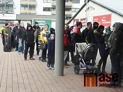 Prodej volných lístků na zápas Jágra v Liberci vyvolal zájem fanoušků