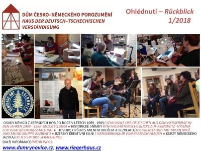 Únorový program v Galerii FR Rýnovice