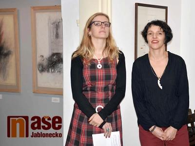 Obrazem: V Galerii MY zahájili výstavu manželů Nepasických