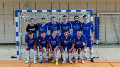 Futsalový tým GMM vstupuje do jarní části 2. ligy