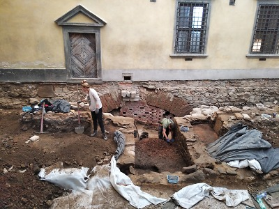 Na hradě Grabštejn ukončili archeologický průzkum