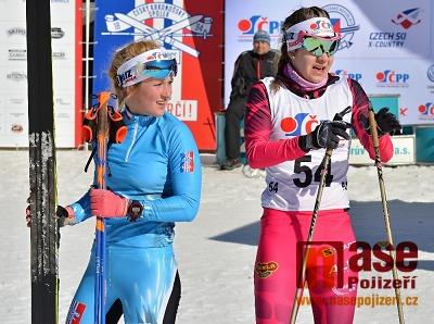 Poslední část šampionátu v běhu na lyžích probíhala na Mísečkách