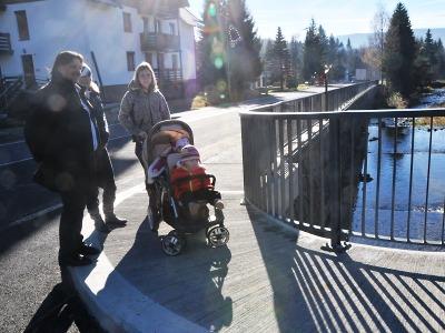 V Harrachově se už jezdí přes dva nové mosty na Milnici a Kamenici