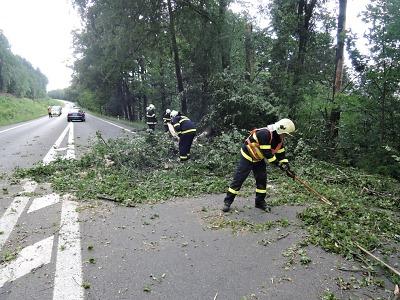Bouře Fabien způsobila škody i v Libereckém kraji