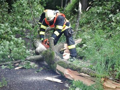 Bouřka se prohnala krajem, největší škody zanechala na Jablonecku