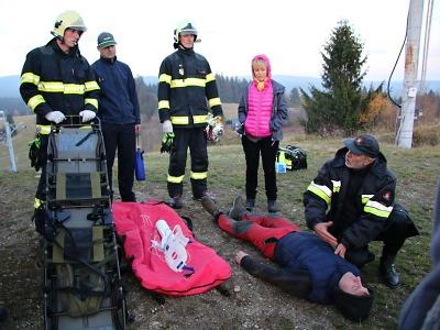 Hasiči z Libereckého kraje a polské Jelení Hory soutěžili v první pomoci