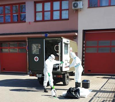 HZS Libereckého kraje má prvního nakaženého, je ze stanice v Semilech