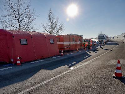 Testovací místo pro řidiče kamionů bude fungovat do začátku března