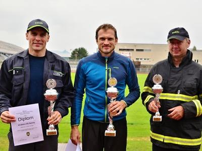 Na krajské soutěži v požárním útoku čtvrté družstvo ÚO Jablonec