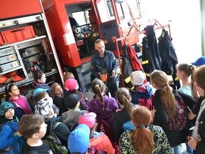 Hasičské stanice v kraji navštívilo 1600 dětí i dospělých