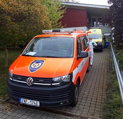 HZS Libereckého kraje se připojil k 16 mobilním odběrovým týmům HZS