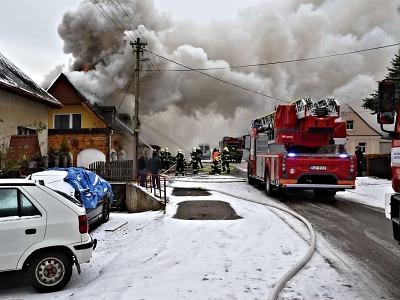 Požárů topidel a komínů při začátku zimy přibývá