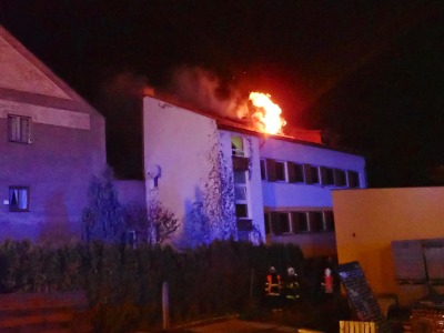 O víkendu hořelo v Železném Brodě i Jablonci