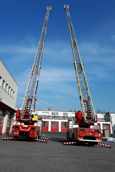 Hasiči ze stanice Liberec se pyšní novou výškovou technikou