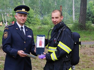 Jablonečtí hasiči připravili pro svého kolegu poslední výjezd