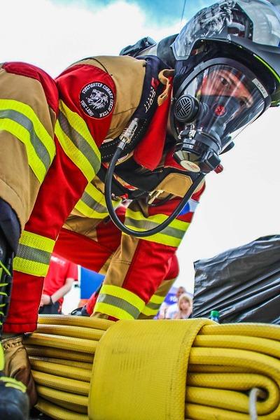 Liberecký hasič posbíral cenné kovy v závodě Championships FireFit