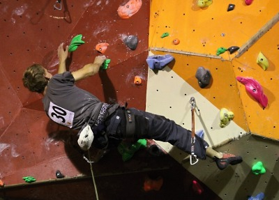 Jablonecká lezecká aréna prověřila nejlepší hasiče
