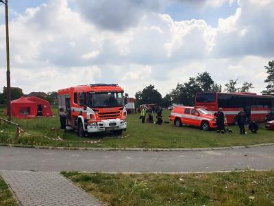 Hasiči z Libereckého kraje pomáhají po ničivém tornádu na jižní Moravě
