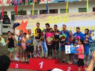 Tentokrát Helena Erbenová na závodech v Číně druhá
