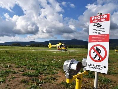 Výjezdovou základnu ZZS na libereckém letišti čeká modernizace