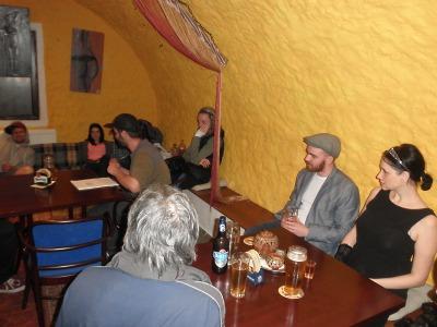 V Cafe bar Hlavolam otevřeli výstavu Josefa Karla