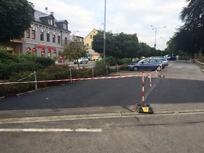 Na Horním náměstí v Jablonci přibydou parkovací místa