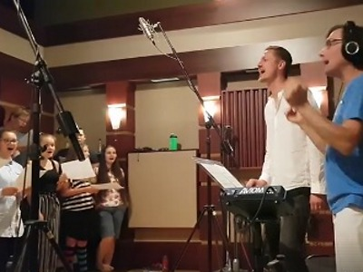 Video: Natáčení alba Ondřeje Rumla se sborem Iuventus, Gaude!