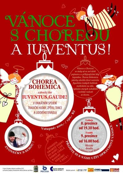 Ve vánočním pořadu spojí síly Chorea Bohemica a Iuventus, Gaude!