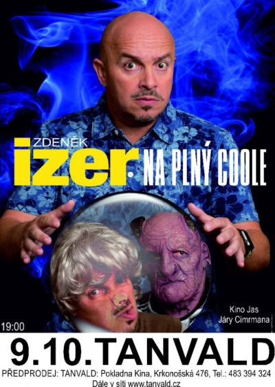 Zdeněk Izer přijede do Tanvaldu se show Na plný coole