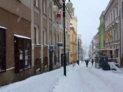 Jablonec od 2. ledna zasypává sníh