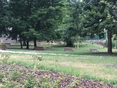 V Jablonci obnovili park v ulici Pod Baštou