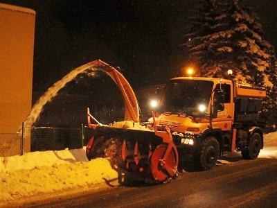 Jablonec pokračuje v úklidu sněhu