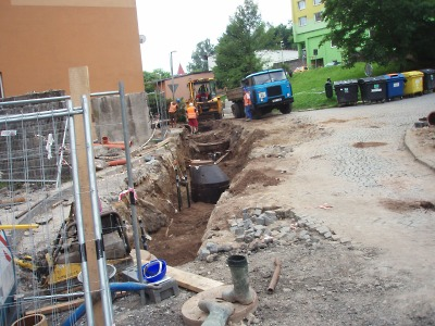 Rekonstrukce otočky MHD na Žižkově vrchu finišuje