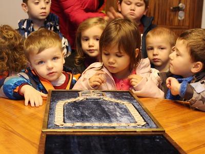 Dětem se líbil na jablonecké radnici primátorský řetěz
