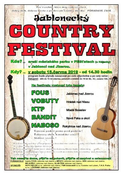 Country fanouškům zahraje v Jablonečku pět kapel