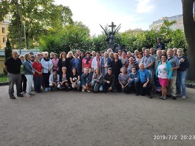 Sbor Janáček vystupoval v Pobaltí a Petrohradu