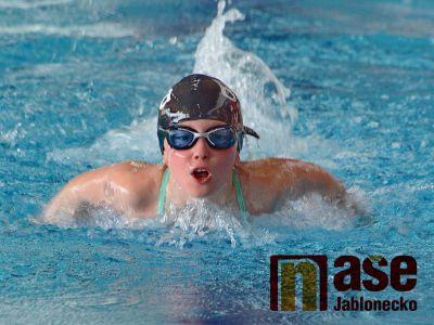 Tři zlaté medaile nejmladších plavců z mistrovství Čech