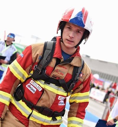 Liberecký hasič Jan Pipiš závodil na mistrovství světa FCC v Americe