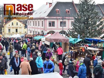 Obrazem: Vánoční jarmark v Jilemnici v roce 2019