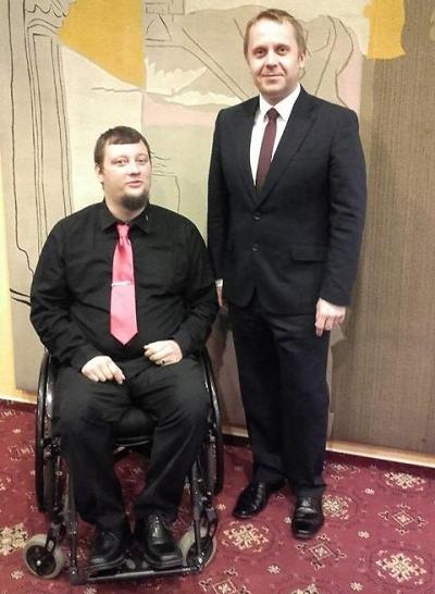 Mezi nejlepší handicapované sportovce se probojoval i Jiří Suchánek