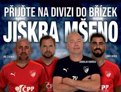 Jiskra Mšeno hostí v sobotu Dvůr Králové