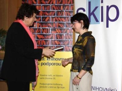 Cenu Knihovnice roku získala Jitka Nosková z Jablonce nad Nisou